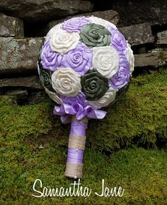 Custom Made Bridesmaids Wedding Bouquet You by SamanthaJaneBridal