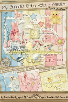 My Beautiful Baby Value Collection [DL-CH-XLVC-MyBeautifulBaby] - $6.36 : Digital Scrapbook Place, Inc. , High Quality Digital Scrapbook Graphics