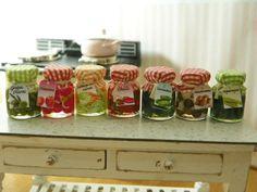 deliziose e colorate conserve di verdure in miniatura in diversi gusti a vostra scelta la vendita è per una conserva- 1,8 cm alto