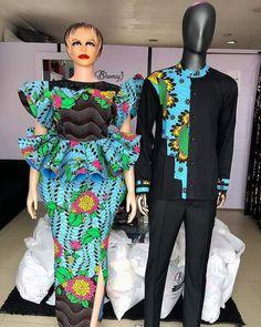 African Fashion Ankara, Latest African Fashion Dresses, African Print Fashion, African Wear, African Dress, Nigerian Fashion, Ankara Skirt And Blouse, Ankara Jumpsuit, Mode Wax