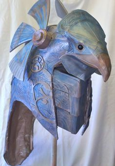 I love the movie Stargate and when I first saw it I immediately knew I wanted to make one of the super cool Horus guard helmets. I had sketched multip...
