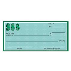 Club Pack of 12 Green Casino Night Winner's Check Cutout Party Decorations Cheque, Casino Theme Parties, Casino Party, Party Items, Party Gifts, Game Presents, School Decorations, Casino Night, Party Supplies