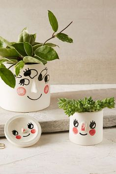 Tuesday Bassen Handmade Ceramic Planter - Urban Outfitters