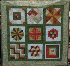 1st quilt, hand quilted