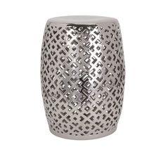 IMAX Lexor Ceramic Garden Stool | AllModern