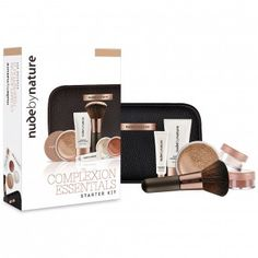 Are you looking for Complexion Essentials Starter Kit in Light to Medium 1 Kit by Nude By Nature? Priceline has a wide range of Makeup products available online. Liquid Minerals, Hair Kit, Travel Brushes, Makeup Gift Sets, Essentials, Makeup To Buy, Makeup For Beginners, Makeup Case, Starter Kit