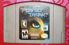 Perfect Dark - Nintendo 64 Video Game