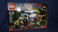 LEGO RAPTOR RAMPAGE 75917 BRAND NEW IN SEALED BOX JURASSIC WORLD FREE SHIPPING