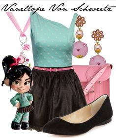 Vanellope costume for Halloween maybe?