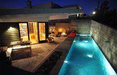 Small yard pool