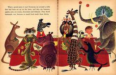 'The Animals' Party', by Elisabeth Brozowska