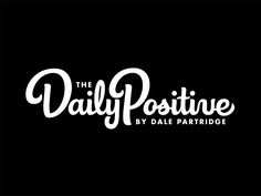 The Daily Positive Logotype by Neil Secretario