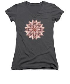 Our women's v-necks are made from 100% pre-shrunk cotton and are available in five different sizes. All women's v-necks are machine washable. SHIPS WITHIN: 1-2 business days. Designs are available on Men's T-Shirts (Athletic, Regular, Premium, V-Neck), Women's T-Shirts (Athletic, Standard, V-Neck), Sweatshirts, Heathers T-Shirts, Long Sleeves, Baseball, Tank Tops, Youth, Kids, Toddler, and Baby Onesies #apparel #TShirts #reiki #nature #geometric #patterns #kaleidoscopes #mandalas #abstract