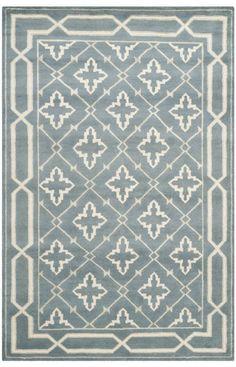 Safavieh Mosaic MOS163 BLUE BEIGE Rug | Traditional Rugs