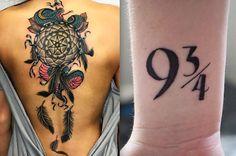 Si te hiciste un tatuaje este año, *probablemente* era uno de estos...