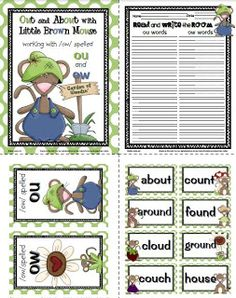 Over the last month I have created a number of Word Work packets  that focus on vowel sounds  spelled a variety of ways.   Each week, I ha...