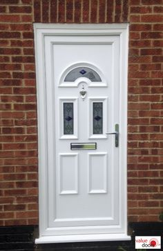If you're looking for cheap uPVC Front Doors, you'll LOVE our uPVC Doors prices. Included in our external uPVC Doors prices is expert measuring, fitting & VAT. Click the link to get a new uPVC Front Door today! Upvc Porches, Upvc French Doors, Doors Online, Door Price, Composite Door, White Doors, Back Doors, Tall Cabinet Storage, Link