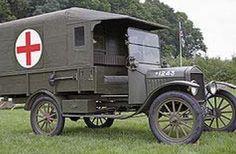 Ambulancia Ford T. Primera Guerra Mundial