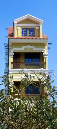 Maison verticale à Battambang