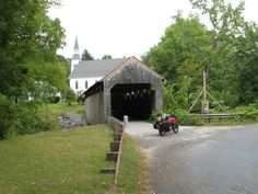 These 13 Beautiful Covered Bridges In Massachusetts Will Remind You Of A Simpler…