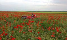 Piroska motorcycling