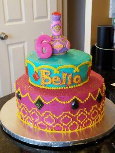 shimmer and shine; genie birthday cake