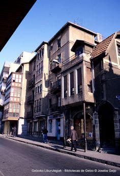 Calle Andrés Cortina, años 80 (Colección Joseba Geijo) (ref. JG107)