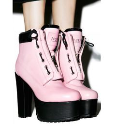 Current Mood Not Yerz Prophecy Platform Boots get ready to have yer palm read bb, we can see the future perfectly. These amazing platform boots will have ya… Leather High Heel Boots, Shoe Boots, Shoes Heels, Women's Boots, Cute Shoes, Me Too Shoes, Undone Look, Platform Boots, Current Mood