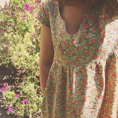 washi dress in liberty