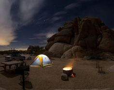 Night in Joshua Tree | Camp Trend
