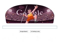 London 2012 Mens Javelin: Google doodles day 11 throwing Javelin
