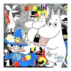 Moomin Mini Wall Calendar