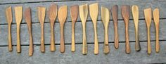 Ingredients: Handcarved Wooden Spoons and Utensils by Bob Matus : The Maine