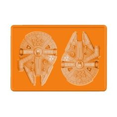 Star Wars Silicon Tray Millennium Falcon For Ice Cube / Chocolate: Amazon.co.uk: Toys & Games