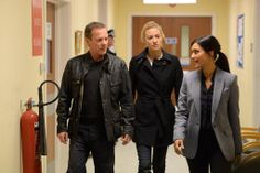 """Kiefer Sutherland (Jack Bauer) and Yvonne Strahovski (Kate Morgan) in 24: Live Another Day (2014) """"5:00 p.m. - 6:00 p.m."""""""
