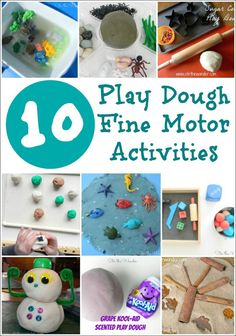1000 images about fine motor play on pinterest fine for Playdough fine motor skills