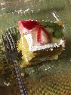 Vegan fruit cake.