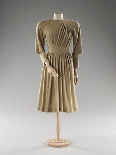 Dress  Madame Grès (Alix Barton) (French, Paris 1903–1993 Var region)  Date: spring/summer 1974