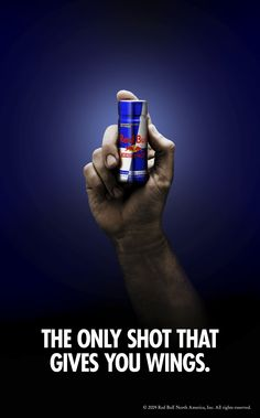 red bull gives you wings ad Ads Creative, Creative Advertising, Print Advertising, Advertising Campaign, Print Ads, Red Bull, Guerilla Marketing, Inbound Marketing, Company Taglines