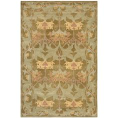 An ancient pot-dying technique and dense, thick pile highlight this hand-spun traditional rug. Premium wool is used with a luster wash finish to give it a soft silky finish to ensure this is one of the most luxurious rugs.