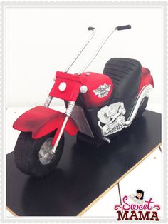 3D Cake. Harley Davidson by Sweetmama.