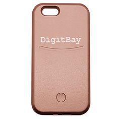 [DigitBay] LED Illuminated Cell Phone Charger Case for iPhone (RoseGold for iPhone 6/6S) DigitBay http://www.amazon.com/dp/B01CBTI5ZE/ref=cm_sw_r_pi_dp_x.c6wb0J10EDB