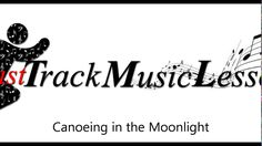 Piano Adventures Lesson Book Level 2B Canoeing In The Moonlight
