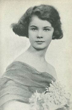 "Can anyone guess who this beautiful young girl is???  hint...she later lived at ""Tara"""