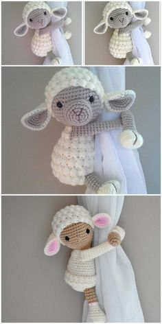 Wonderful No Cost amigurumi free pattern lamb Ideas Amigurumi Lamb Crochet Free Pattern – Free Amigurumi Crochet : Amigurumi Lamb Crochet Free Patte Crochet Sheep Free Pattern, Doll Amigurumi Free Pattern, Crochet Amigurumi Free Patterns, Crochet Motifs, Free Crochet, Motifs Animal, Crochet Projects, Knitting, Crafts