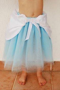 DIY HALLOWEEN COSTUME : DIY Cinderella Tutu!