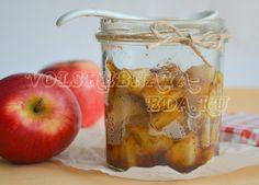 Соус-конфи из яблок с хересом