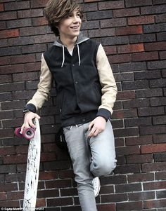 George from Union J mwah;) aww he used to get bullied at school :( bless him! Well he's doing better than them now!