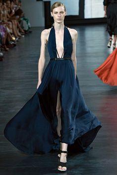Jason Wu SS15 :: Julia Nobis | gorgeous. the kind of dress i wish I could design. i love the neckline.