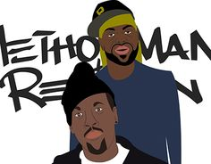 """Check out new work on my @Behance portfolio: """"Method Man & Red Man"""" http://on.be.net/1PteOkE"""